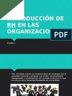 Organizacion RH