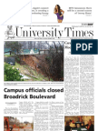 The University Times - February 9, 2010