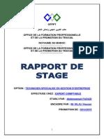 DE STAGE TÉLÉCHARGER OFPPT RAPPORT DE EXEMPLE