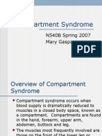 Compartment Syndrome by Mary Gasper