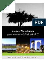 Guia Forestacion Mexicali