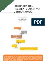 Desorden Del Procesamiento Auditivo Central (Dpac)