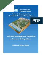 Cálculos Hidrológicos e Hidráulicos Maximo Villon