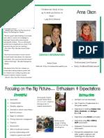 teacher brochure website