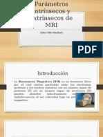 Parámetros Intrínsecos y Extrínsecos