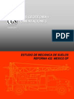 Estudio de Mecanica de Suelos en Reforma 432