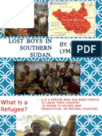 Lost Boys in Southern Sudan