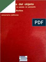Bollas, Christopher - La Sombra Del Objeto