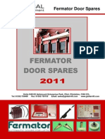 2011 Fermator Catalogue