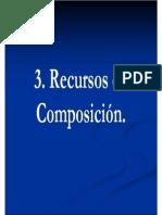 Recursos de Composición