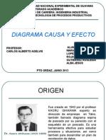 DIAPOSITIVASSSSSSS Diagrama Causa y Efecto