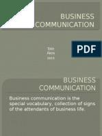 3 Business Communication