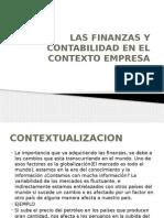 Las Finanzas y Contabilidad en El Contexto Empresa