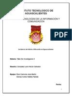Incidencia de Infarto Al Miocardio en Aguascalientes