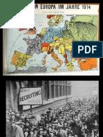 Actividad de Inicio Cuartos Medios Primera Guerra Mundial