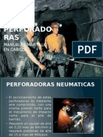Perforadoras neumaticas