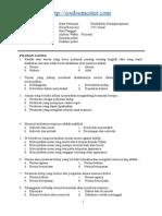 Soal Uas Pkn Kelas 7 2013-2014