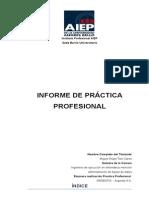 Informe factoring