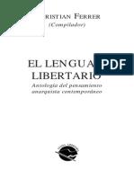 TP3 (2015) Ferrer, Christian - El Lenguaje Libertario (Selección)