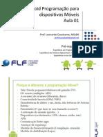 ANDROID Programação Para Dispositivos Móveis - 01