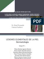 Lesiones Elementales - Dermatología