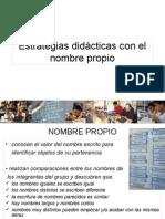 Estrategias Didácticas Con El Nombre Propio-2
