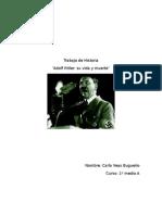 Trabajo de Historia Adolf Hitler