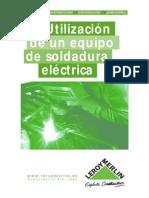 Utilización de Un Equipo de Soldadura Eléctrica (2)