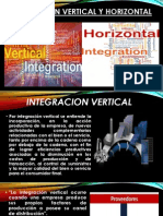 Integración Vertical y Horizontal