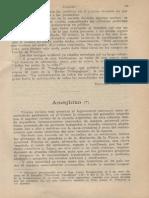 Ameghino Por Kraglievich