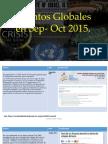 Eventos Globales Sep- Oct 2015