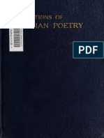 Poems Selected From Karamzin, Pushkin, Tyutchev, Lermontov, Count a. Tolstoy, Nikitin, Pleshcheyev, Nadson, And Sologub ([1917-])