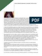 SAN VICENTE de LERINS - Regla Para Distinguir Verdad Catolica Del Error