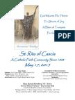 St. Rita Parish Bulletin 5/17/2015