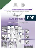 Guia Exprese SEP