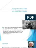 Cambios Psicosociales en Adulto Mayor