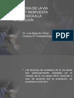 Anestesia de La via Aerea y Respuesta Fisiologica