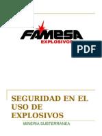 Manipuleo Explos. Catalina Huanca
