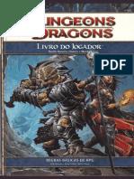 D&D 4Edição - Livro Do Jogador