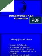 Intr. Pedagogia Unidad 1