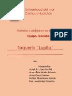 Taqueria Lupita 2 Parcial