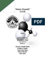 Cover Kimia Organik ETER