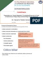 12 Colelitiasis 2Dr.navarro