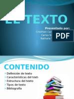 EL TEXTO Exposicion