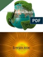 Fuentes Alternas de Energia