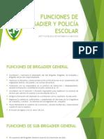 Funciones de Brigadier y Policía Escolar