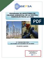 Monitoreo Ambiental Trimestre IV 2014 GEPSA