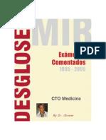 Desgloses CTO Comentados MIR 1995-2005
