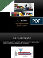 Extrusion proceso
