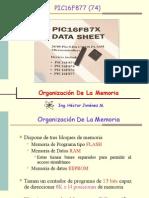 Micros Pic16f87x Memoria
